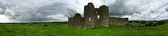 Roche Castle Dark Clouds (David Abresparr) Tags: rochecastle slott slottsruin medeltid castle
