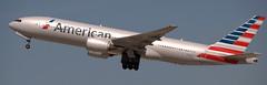 Boeing 777-223 N758AN (707-348C) Tags: losangeles thehill lax klax airliner jetliner boeing b77l boeing777 american americanairlines b772 aal n758an triple