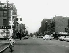 Main Avenue & West 48th, 1953 (Ashtabula Archive) Tags: perrycragg bings candyland ashtabuladinor palacetheater