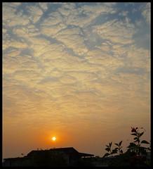 Evening Sky - Post Monsoon Mumbai (indianature13) Tags: sky mumbai nature indianature october 2016 sunset india maharashtra