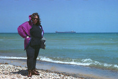 Whitefish Point (Dawn Endico) Tags: lakesuperior michigan upperpeninsula whitefishpoint freighter ship transportation