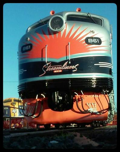 B61 - 'BERNIE BAKER' Streamliners 2016 edition.