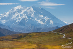 The Road to Denali (Gary Randall) Tags: gar71402 denali alaska denalinationalpark mountain landscape road