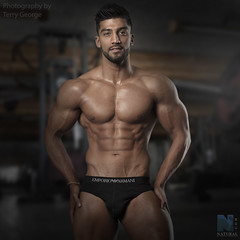Rohan NFM (TerryGeorge.) Tags: natural fitness models abs six pack workout toned athletic sexy underwear male model shirtless hunk ripped
