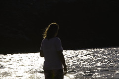 Reflektion (wellenkern) Tags: strand beach brandung reflection ocean sea