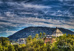 Fantastic Fall Sky Roanoke Star (Terry Aldhizer) Tags: roanoke star hotel mill mountain fantastic fall skies autumn october sky trees blue ridge city virginia terry aldhizer wwwterryaldhizercom
