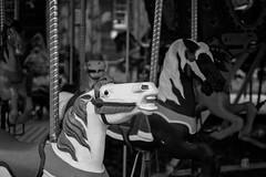 Carousel-B&W Quechee VT (S&L Smith) Tags: vermont carousel blackwhite sonya7ii a7ii nikon 3570mmf28d
