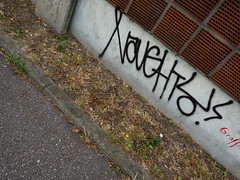 Graffiti in Mannheim 2015 (kami68k []) Tags: mannheim 2015 graffiti illegal bombing tag tags tagging handstyle handstyles naughty
