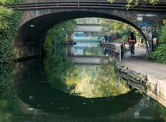 (DeepSane) Tags: london regentscanaltowpath reflections bridge