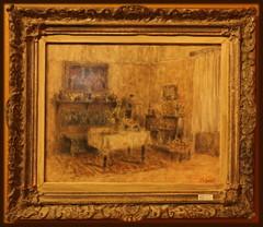 2015 S 2504 Emanuel Vidovi_010 (Morton1905) Tags: emanuel vidovi slikareva blagovaonica 1942 ulje na papiru hgs 4153 the painters dining room oil paper