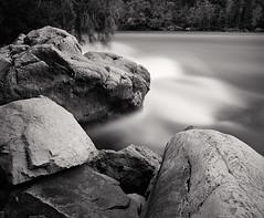 Rapids - Niagara River (Joe Iannandrea) Tags: ishootfilm landscape blackandwhite nature longexposure mamiyarb67pros 50mmf45sekorc fujiacros pmkpyro 10stopnd niagarariver niagaraglen niagaragorge rapids niagarafalls ontario canada epsonv500