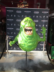 Ghostbusters 42nd Street Wax Slimer 2016 NYC 6501 (Brechtbug) Tags: 42nd street wax slimer 2016 nyc 10142016 new york city green ghost from ghostbusters film museum midtown manhattan sidewalk spooks spook movie creature halloween decoration decor spooky madame tussauds waxworks waxwork museums art sculpture statue special effect effects