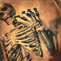 BOOM (hbmike2000) Tags: hbmike2000 apple iphone6splus iphone cigarette smoking crazybones bones halloween holiday skeleton instagramapp square squareformat iphoneography maven