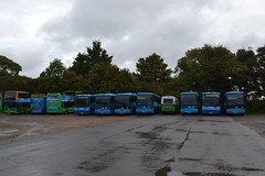 Southern Vectis 1992 GSK962 - 4742 K742ODL - 1111 VDL744 - Blue Vectis 7083 WV52HTT - 7036 MV02UML - 7038 MV02UMO - 7033 MV02UML - 202 KDL202W - 7034 MV02UMJ - 7086 NA52RNE - 7044 MV02UMX (Will Swain) Tags: carisbrooke 14th october 2016 beer buses walks weekend south southern island isle wight depot yard bus transport travel uk britain vehicle vehicles county country england english vectis 1992 gsk962 4742 k742odl 1111 vdl744 blue 7083 wv52htt 7036 mv02uml 7038 mv02umo 7033 202 kdl202w 7034 mv02umj 7086 na52rne 7044 mv02umx