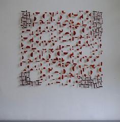 Af (marianbijlenga) Tags: marianbijlenga tiles red textile art fiberart