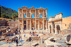 Library of Celsus at the Ancient City of Ephesus, Seluk, Turkey (CamelKW) Tags: libraryofcelsus ancientcity ephesus seluk turkey kusadasi turkey2016