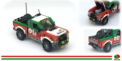 MotorCity 2016 Ford F150 Raptor - Octan Offroad Racer (lego911) Tags: ford f150 p552 raptor racer ecoboost v6 turbo octan racing 2016 2010s motorcity auto car pickup truck moc motor usa america challenge 4x4 4wd awd 108 9th birthday lugnutsturnsnine turns nine model