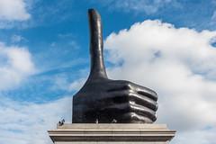 David Shrigley | Really Good (James_Beard) Tags: trafalgarsquare 4thplinth plinth fourthplinth davidshrigley reallygood sculpture london londonlandmarks thumbsup thumb sonyrx100m3