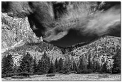 "Vallunga (""Deca"") Tags: dolomiti dolomites montagna mountain monocromatico monochrome biancoenero blackandwhite effettoir ireffect trentinoaltoadige nuvole clouds valgardena"