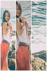 Lucia. (adenak kaneda) Tags: model models modelphoto modelposes posing water rocks purse designer longhair white top beach pch ocean style fashion femalemodel modelshoot photoshoot photography photographer photoshop laphtographer photooftheday picofday modeling modelife modelwork modelfashion