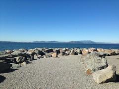 Rock Garden (Melinda Stuart) Tags: rocks emeryville marina baytrail sanfranciscobay mounttamalpias marincounty breakwater