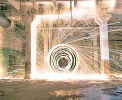 "Kerosene and steelwool. series ""Forgotten in the abandoned"" (Nikolas Fotos) Tags: lightpainting longexposure lightart llightpainting light lichtmalerei lightpaintingphotography longexposurephoto lichtkunst nightshot nightphoto nightphotography night sparks stellwool steelwool flame fire"