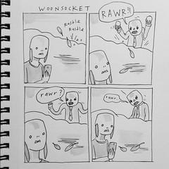 rawr! (starheadboy) Tags: woonsocket zombie comic