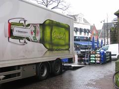 Grolsch (streamer020nl) Tags: enschede 011216 2016 holland twente twenthe overijssel netherlands niederland paysbas nederland beugelfles grolsch bier pils biére beer bottle fles truck