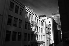 Diagonal Shadow (JB by the Sea) Tags: sanfrancisco california october2016 sanfranciscomuseumofmodernart sfmoma blackandwhite bw urban