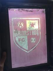 Kronstadt FC shirt screen (artnoose) Tags: bayarea silkscreen print screen seriography screenprint team football soccer anarchist fc kronstadt