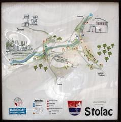 2013 S 1922 BudMeđ_11 Radimlja Stećak necropolis 5234 GoogleMaps
