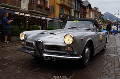 Alfa Romeo 2000 Spider (Andrea the sleeper) Tags: coppa doro delle dolomiti cortina dampezzo aci asi storico race car auto historical revila revival