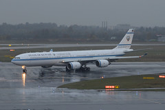 State of Kuwait Airbus A340-542 9K-GBA (EK056) Tags: state kuwait airbus a340542 9kgba dsseldorf airport