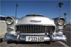 Cuba Car (=RetroTwin=) Tags: retrotwin lostillusion75 cuba kuba 2016 november travel oldtimer car auto big mouth front chevrolet canon eos 450d 1022mm