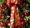 Christmastime (Harry Lipson) Tags: ribbon bow christmas decorations holiday ornaments redandgreen xmas festive merrychristmas harrylipson harrylipsoniii