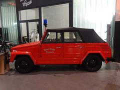 "Volkswagen 181 ""Feuerwehr Bremen"" (harry_nl) Tags: germany deutschland 2016 bremen schuppeneins volkswagen 181 feuerwehr"
