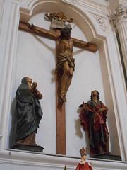 Crucifixion - wooden statues end 17th century - Santa Maria di Montesanto Church in Naples (Carlo Raso) Tags: crucifixion naples italy woodenstatues