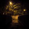 Passerelle de minuit (william 73) Tags: 25mm f18 zuiko olympus france passerelle ombre lumière formatcarré éclairage