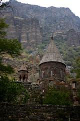 Geghard Monastery 13th century, Armenia (Marianna Gabrielyan) Tags: geghard monastery mountains armenia historicbuildings historicmonuments historic church religion christianity canoneosdigitalrebelxti canonefs1855mmf3556isusm