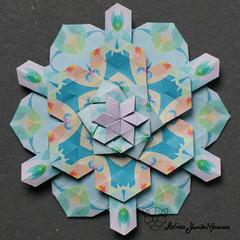 Iimori Mika C (Day 48) (Yureiko) Tags: yureiko tessellation papierfalten papier origami paperfolding paper