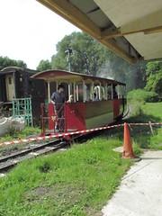 Steam tram (daveandlyn1) Tags: tram telfordsteamrailway people shropshire sx30is powershot canon