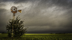 Squall (keith_shuley) Tags: squall front storm clouds stormy thunderstorm weather plains flatland windmill farm texas taylor