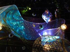 Cosmic celebration (jocelyncoblin) Tags: abstract color festival celebration holiday japan kyoto tanabata light night nightshot purple violet blue bluestblue blueazure