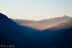 UltimeLuci (Marco Occhieppo) Tags: valledaosta tramonto paesaggio montagna crepuscolo twilight landscape mountain