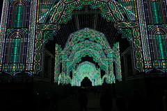 Tunnel of light (*Tom68*) Tags: scotland schottland greatbritan grosbritannien unitedkingdom uk edinburgh outdoor nightpicture nachtaufnahme