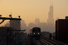 Sunrise (sooline502a) Tags: cta westernave blueline 2600 sunrise