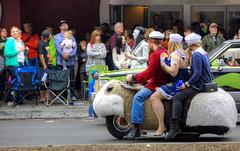 Hamster Wheels (Non Paratus) Tags: pasadena doodahparade parade crowds people 39th