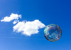 Diamonds (russellstreet) Tags: sculpture cloud australia diamonds sky australiancapitalterritory canberra nationalgalleryofaustralia bluesky neildawson