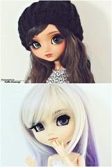 Moana & Althea - Meila's Dolls (Yuffie Kisaragi) Tags: doll dolls pullip pullips nahhato custom akai arashi moana althea obitsu rewigged rechipped suigintou