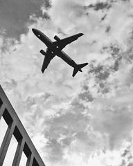 Sky (camilatrentin) Tags: bnw sky skyline airplane wow holidays bw new city